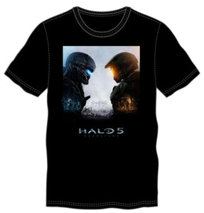 Halo 5 Logo Men's Black T-Shirt Tee Shirt