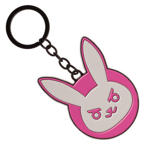 Overwatch Keychain Overwatch DVA Bunny Accessory Overwatch Gift - Gamer Keychain Overwatch Accessories
