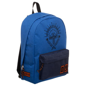 Blue Minecraft Backpack  Minecraft Explore Create Bag