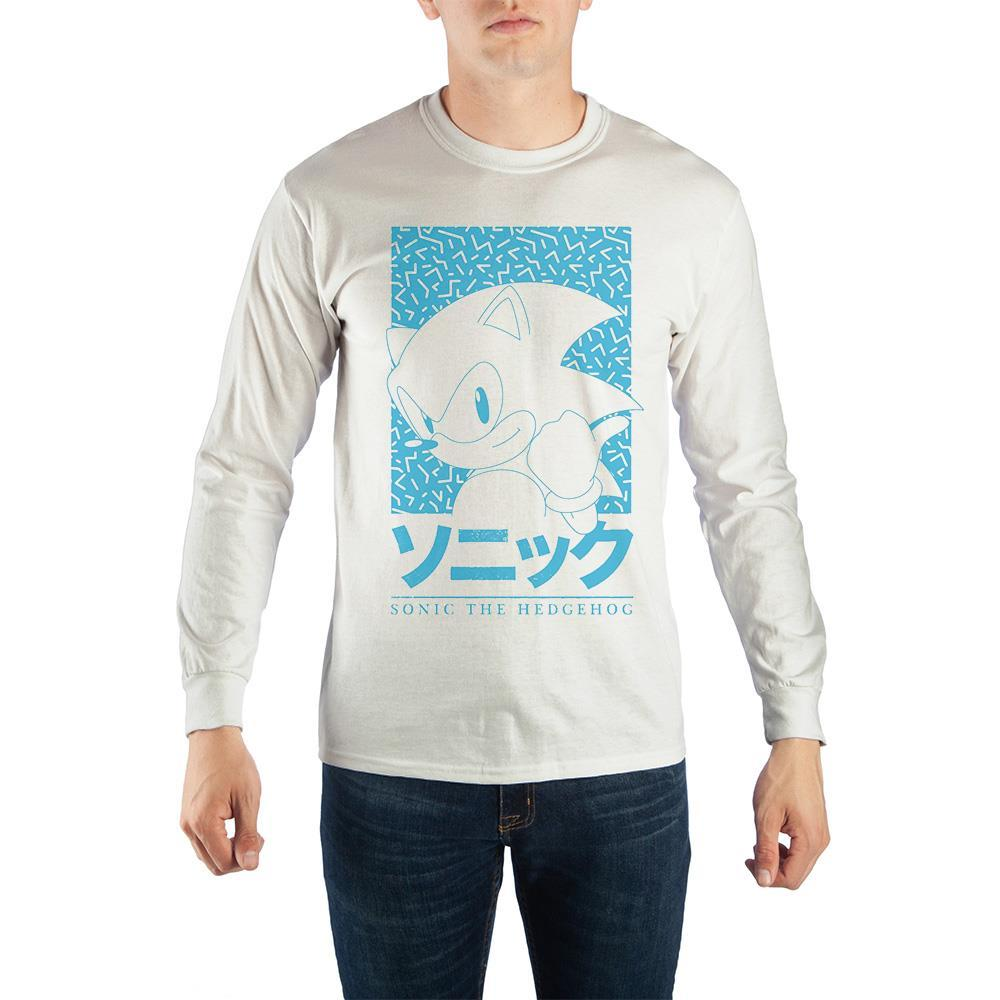 Sonic The Hedgehog Portrait Long-Sleeve T-Shirt