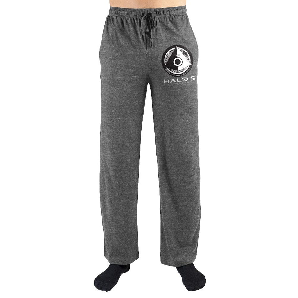 Halo UNSC Office Of Naval Intelligence Logo Print Mens Loungewear Lounge Pants