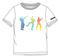 Fortnite Dancing White T-Shirt for KIDS