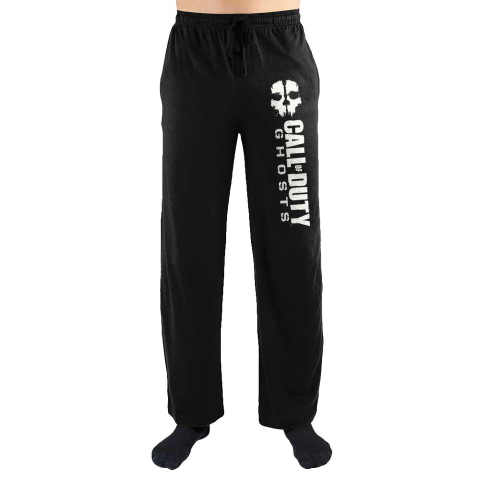 COD Call Of Duty Ghosts Print Mens Sleepwear Loungewear Lounge Pants