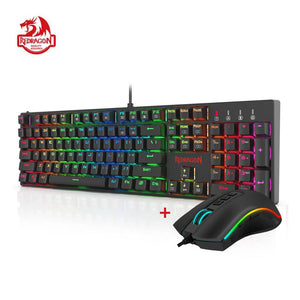 Redragon K582-BA Combo Wired Mechanical Gaming Keyboard