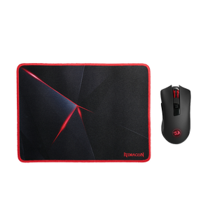 Redragon M652-BA Wireless Gaming Mouse & Mouse Pad Combo