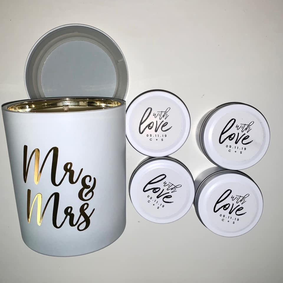 Mr & Mrs Candles