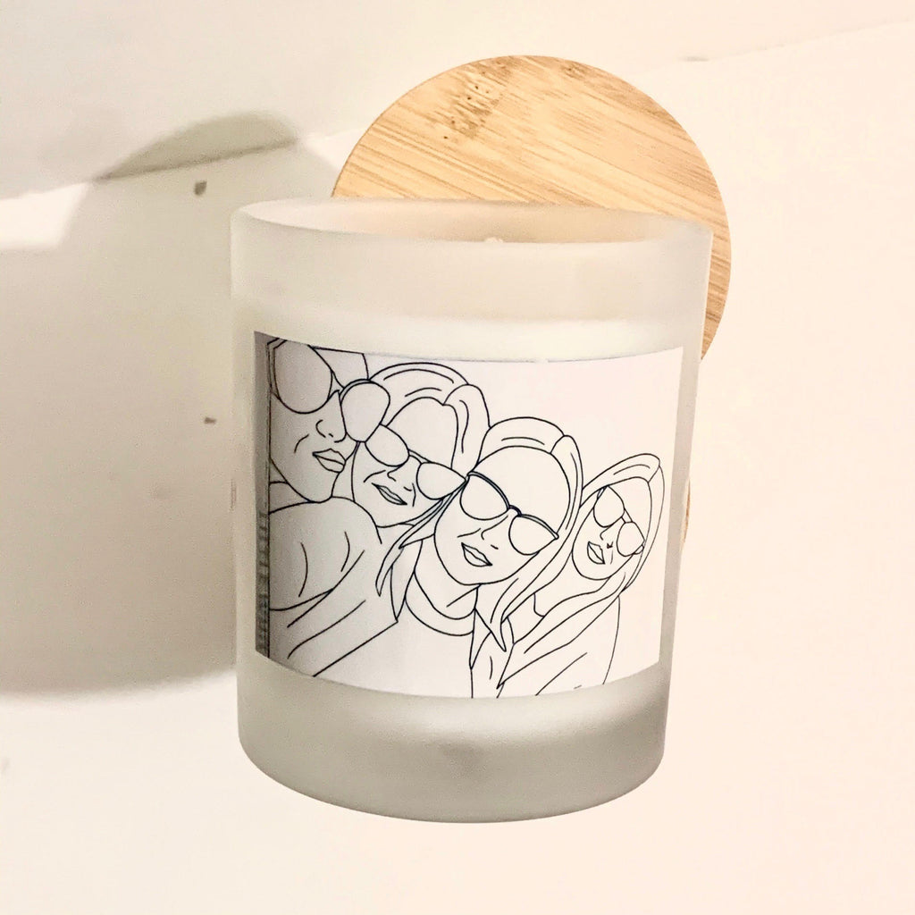 Personalised Portrait Candles