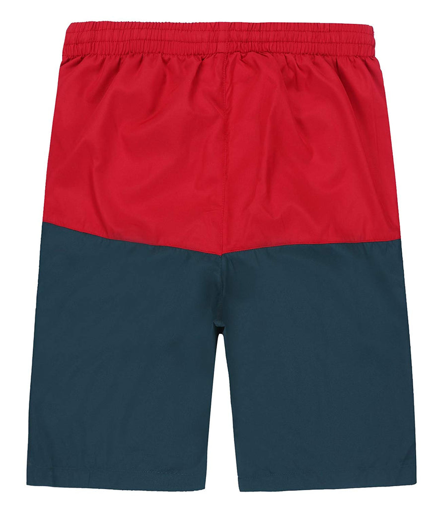 df3a1008e9 ... Dwar Men's Swim Trunks, Beach Shorts with Mesh Lining Watershort  Swimsuit with Cargo Pockets ...
