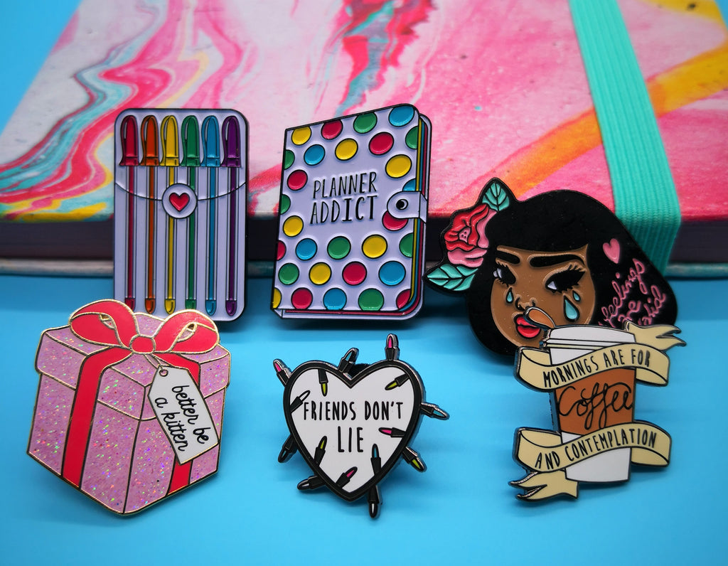 Lemon Gift Box - Trendy Enamel Pins | Punky Pins