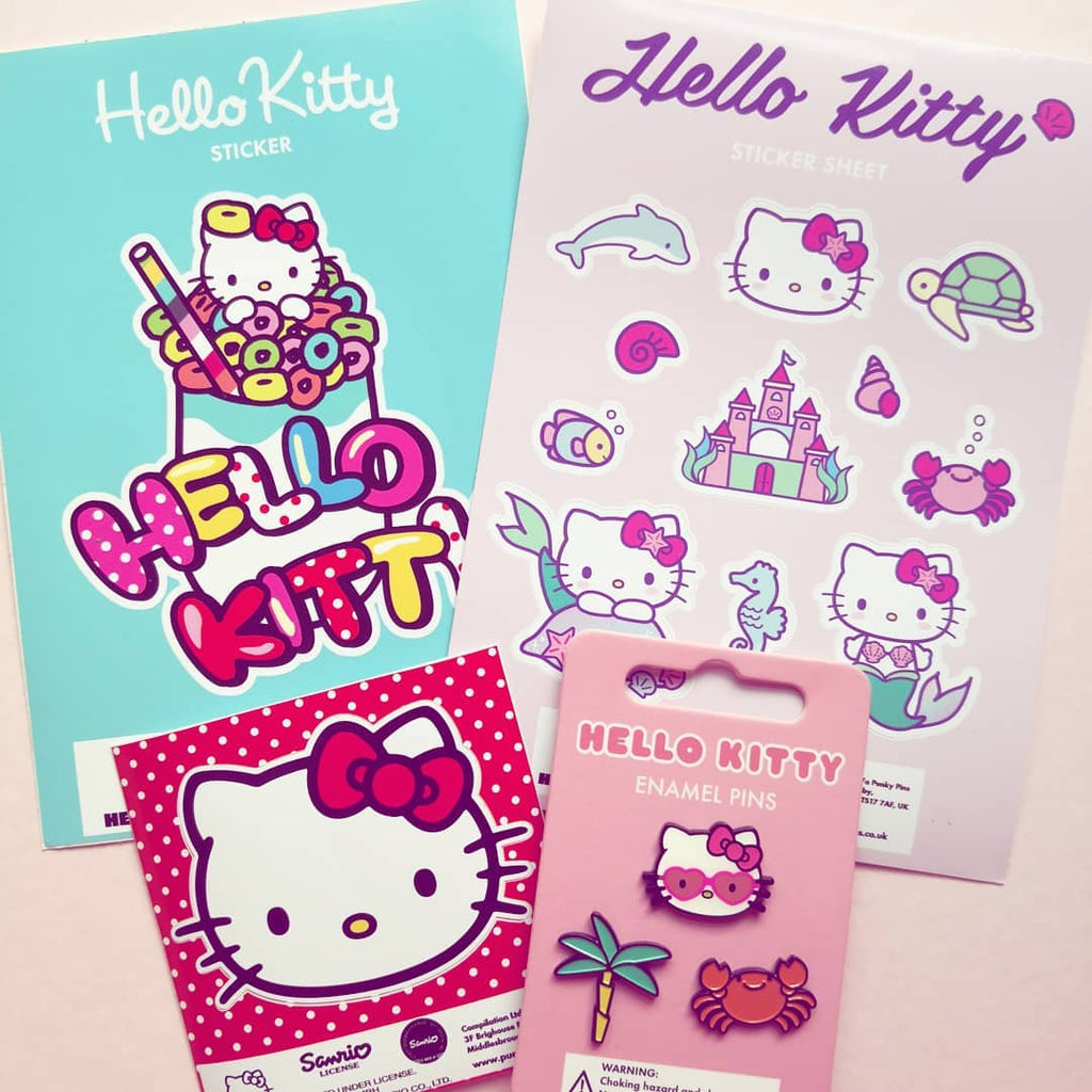 Hello Kitty Sticker Box