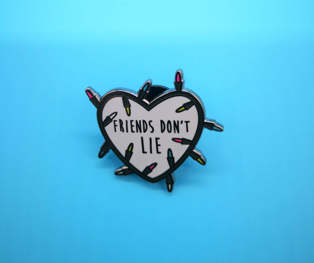 Lemon Gift Box - Friends Don't Lie Enamel Pin | Friendship | Punky Pins