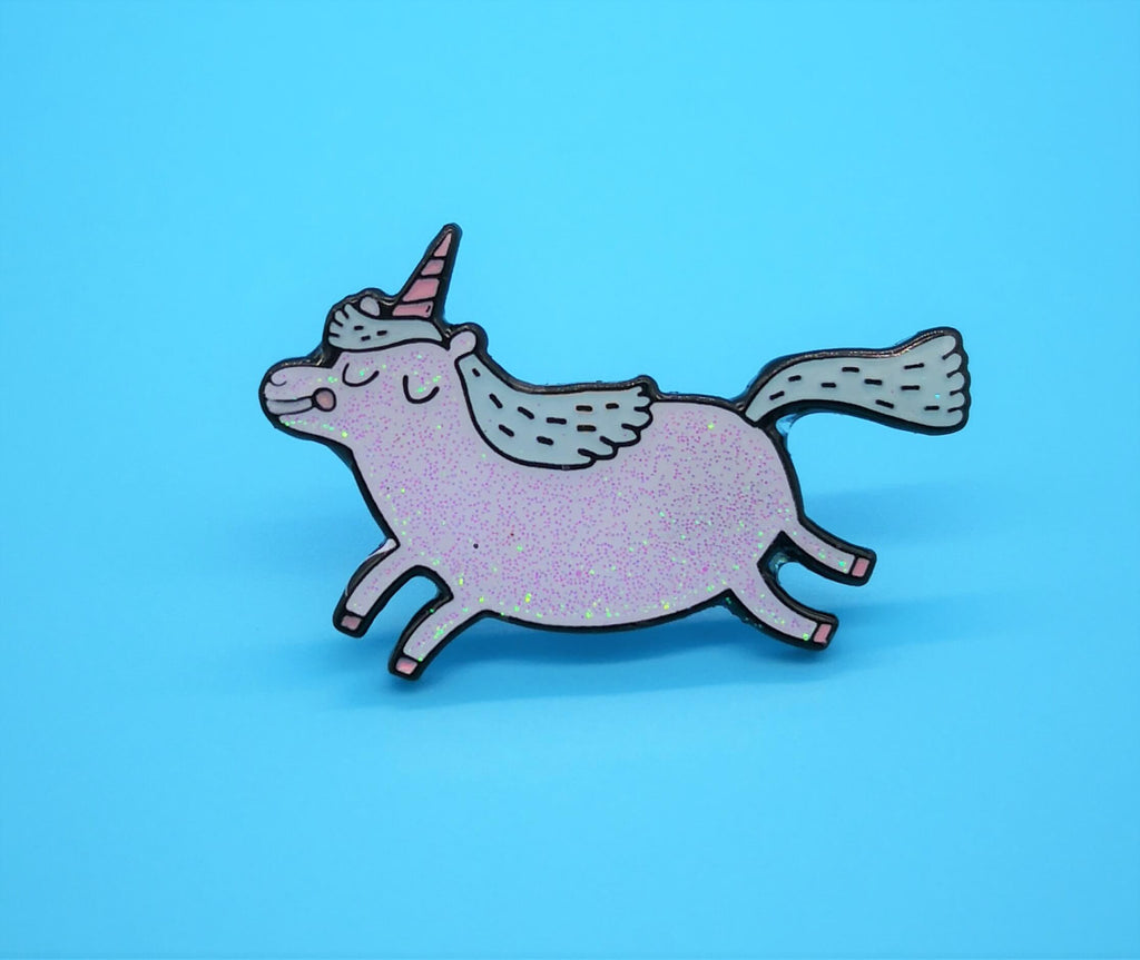 Lemon Gift Box - Unicorn Enamel Pins | Ohh Deer by Gemma Correll