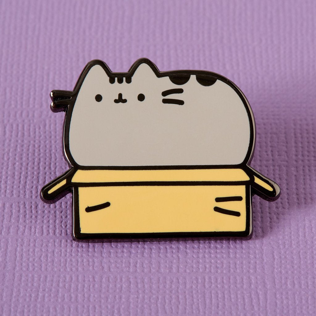 Lemon Gift Box - Pusheen in a Box Enamel Pin | Punky Pins
