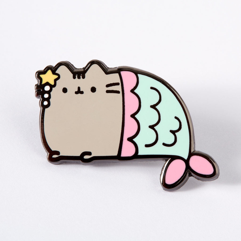 Lemon Gift Box - Mermaid Pusheen Enamel Pin | Punky Pins