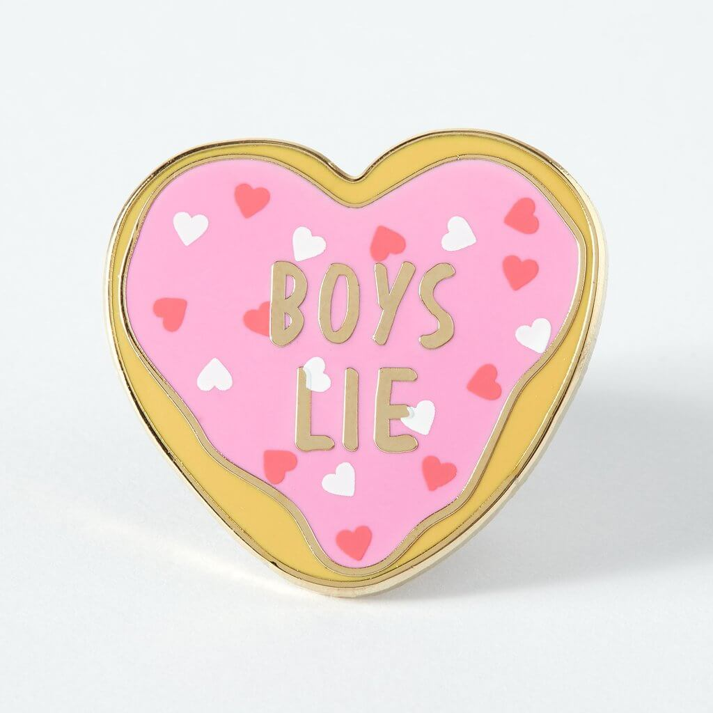 Lemon Gift Box - Boys Lie Enamel Pin | Punky Pins