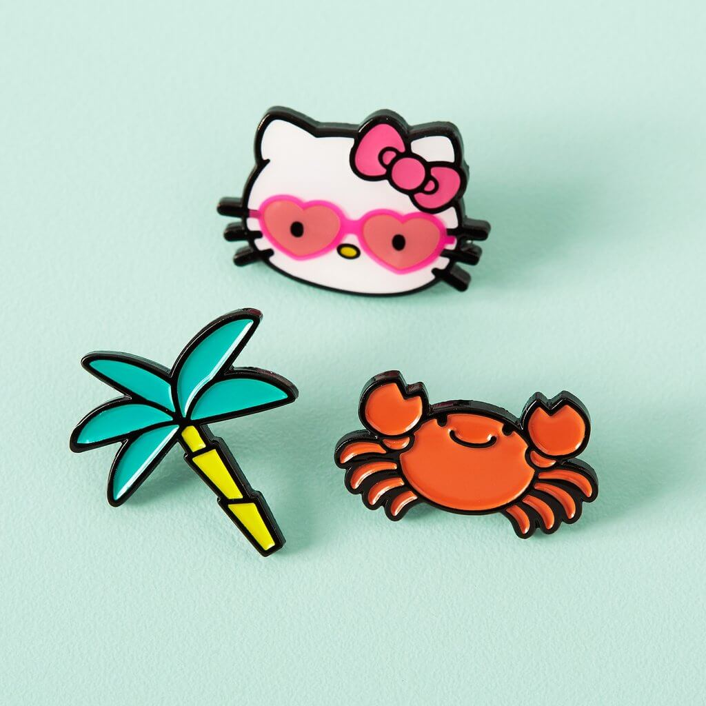 Lemon Gift Box - Hello Kitty Enamel Pins | Sanrio x Punky Pins