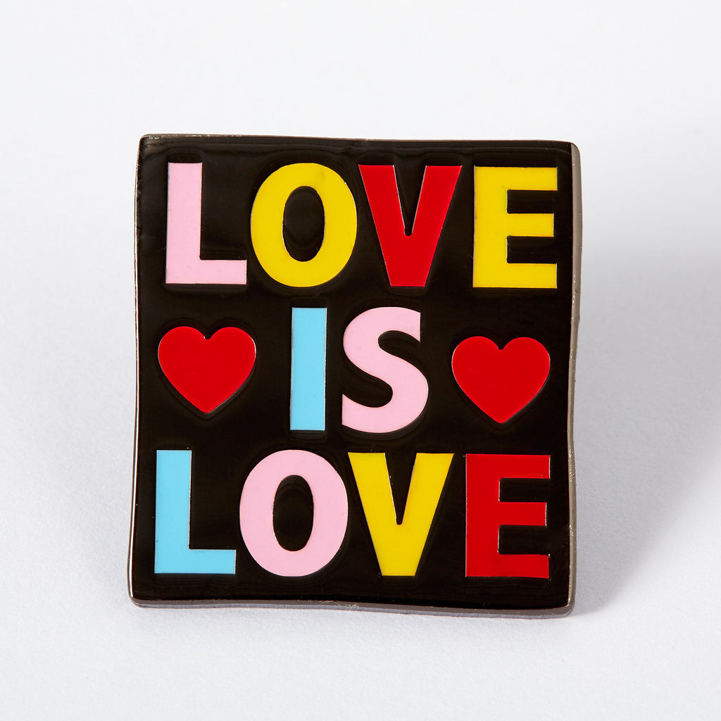 Lemon Gift Box - Love is Love Enamel Pin | Punky Pins