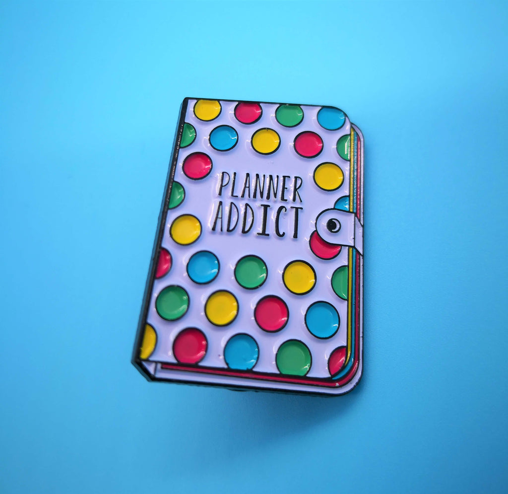 Lemon Gift Box - Bujo Planner Addict Enamel Pin | Punky Pins