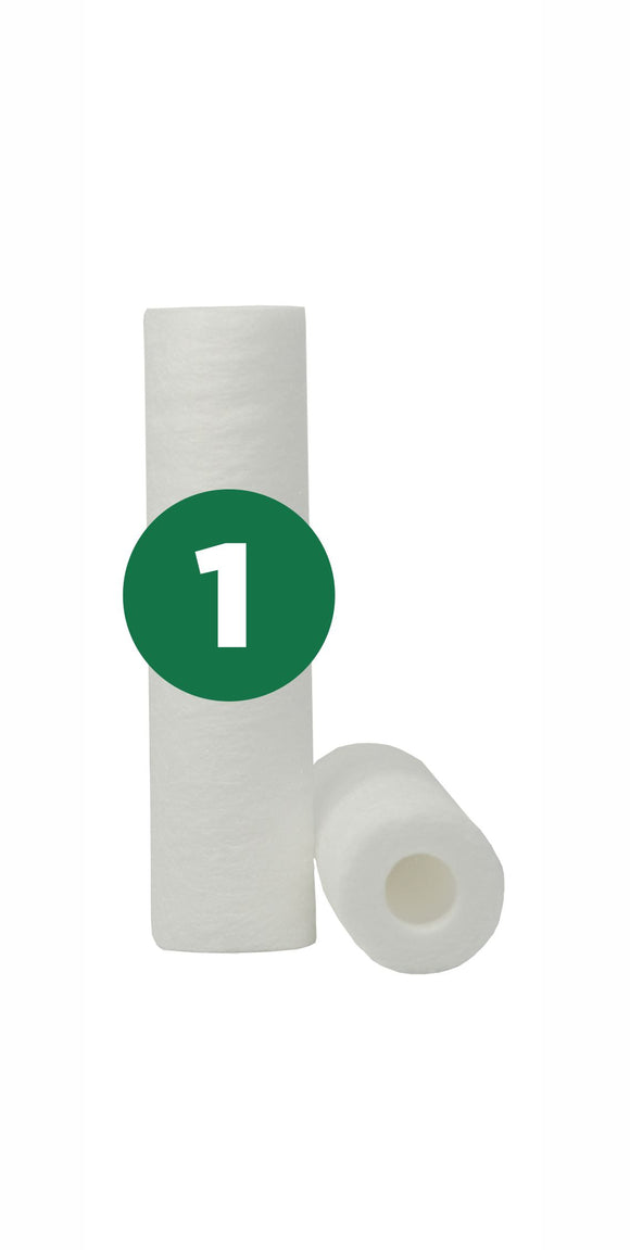 1 Micron 10 in. Sediment Water Filter (1MS)