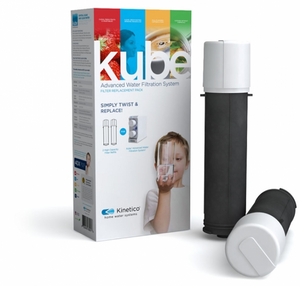 Kinetico Kube Replacement Filters, Twin Pack