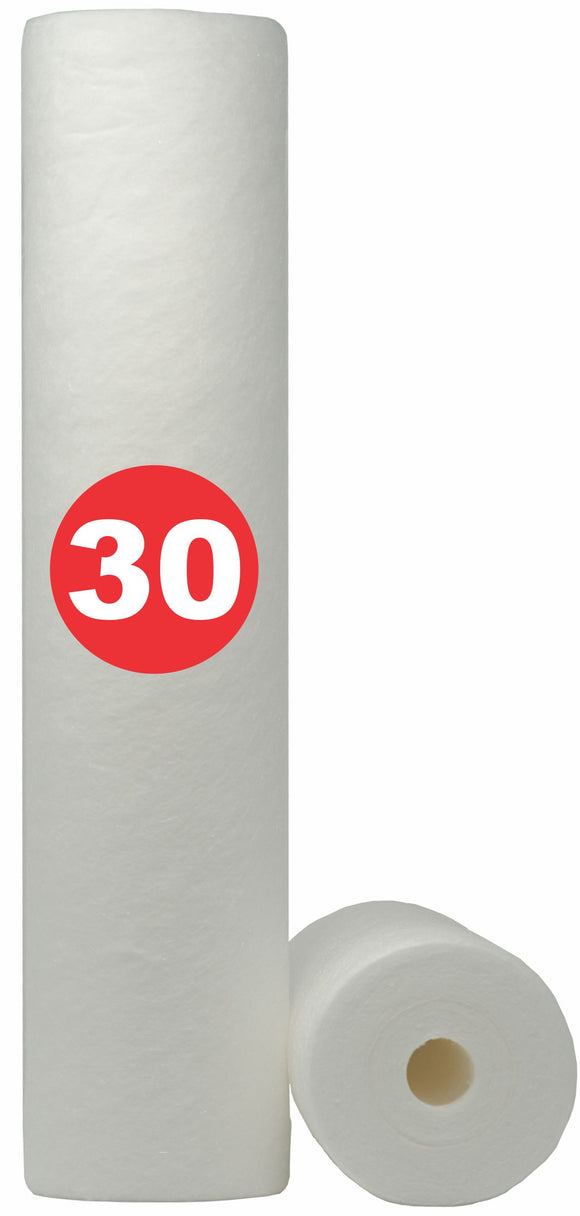 30 Micron 20 in. MeltBlown Big Blue Water Filter (30MBB20)
