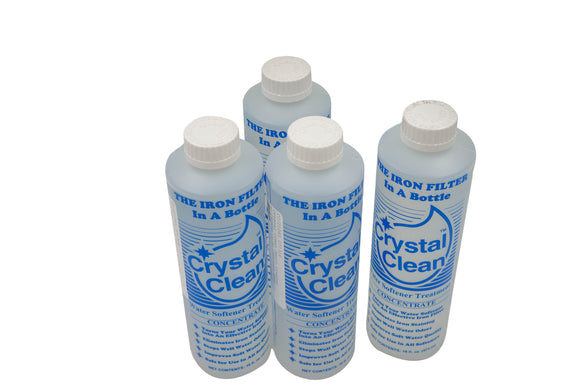 Crystal Clean™ Water Softener Treatment - 16 fl. oz. bottle - 4 Pack