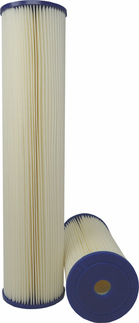20 Micron 20 in. Big Blue Washable Harmsco® Sediment Filter
