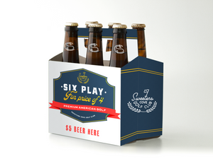 6-pack Golf Round | Six Play for the Price of a Foursome