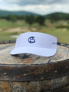 "Men's Hat | Imperial ""Original Performance Tour Visor"" SC White"
