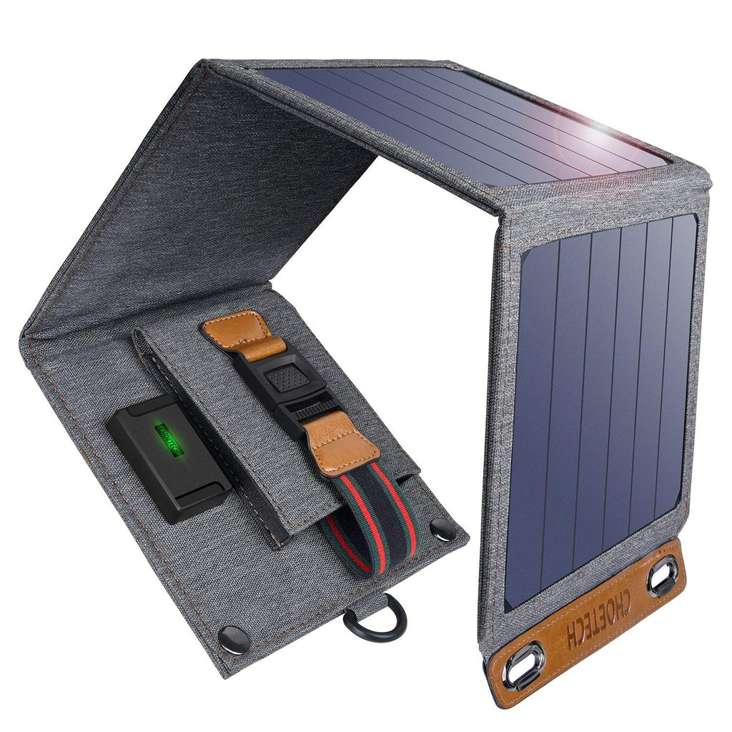 14W Foldable Solar Charger USB Power Port SC004 by CHOETECH