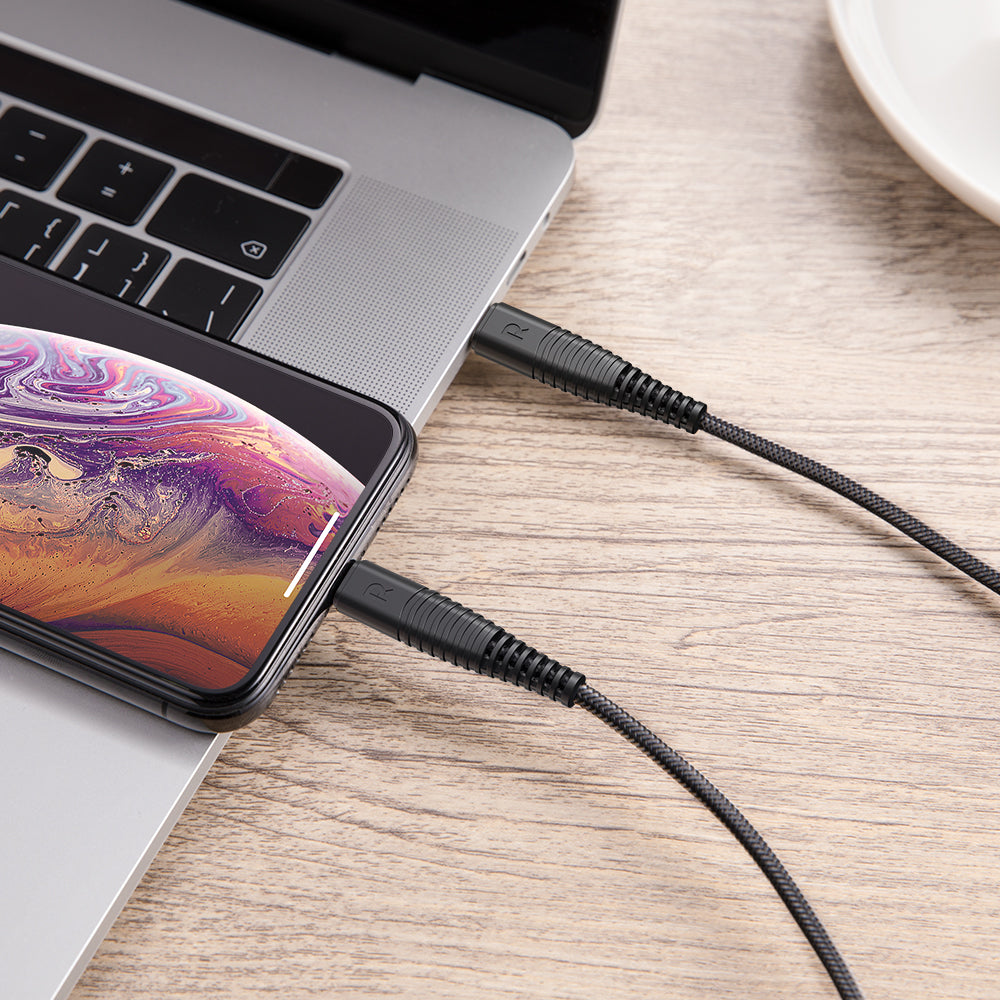 1m USB Type-C to Lightning Kevlar Braided Cable by RAVPower  RP-CB020