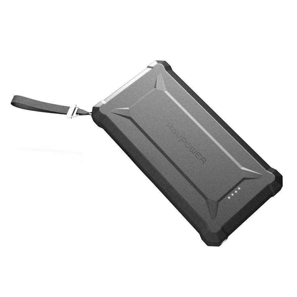 Rugged IP67 rated 10050mAh 18W PD Type-C Power Bank by RAVPower RP-PB096