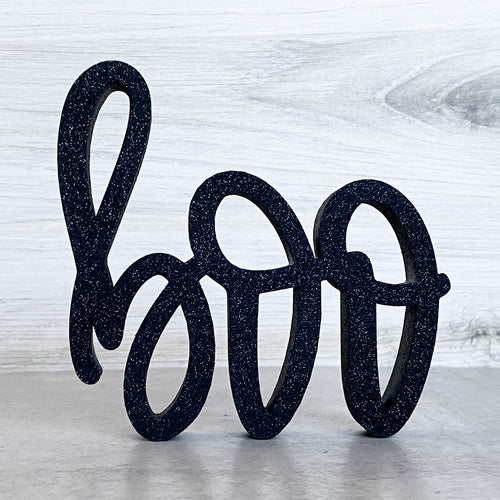 Boo | Sign Decor