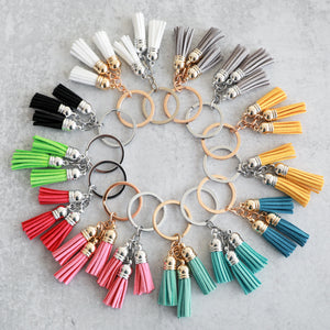 Design Lioness Kaychain Tassel Colors