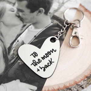 Love You To The Moon & Back Keychain