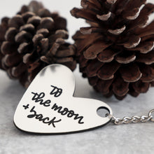 Load image into Gallery viewer, Love You To The Moon & Back Keychain