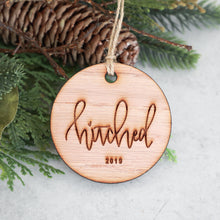 Load image into Gallery viewer, Hitched 2019 Christmas Ornament