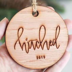 Hitched 2019 Christmas Ornament