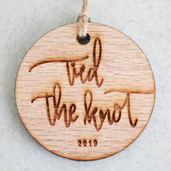 Tied The Knot 2019 Christmas Ornament