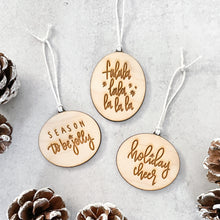 Load image into Gallery viewer, Christmas Ornament Set | All The Feels
