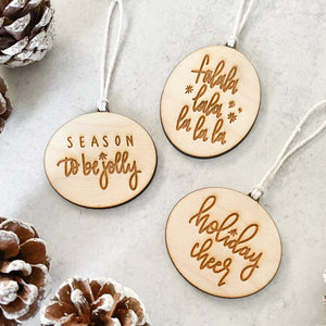 Christmas Ornament Set | All The Feels