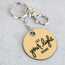Load image into Gallery viewer, Let Your Light Shine Keychain | Mathew 5:16