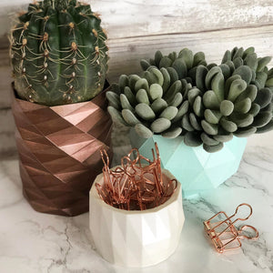 Geometric Planters Set of 3 | Bundle