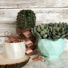 Load image into Gallery viewer, Geometric Planters Set of 3 | Bundle