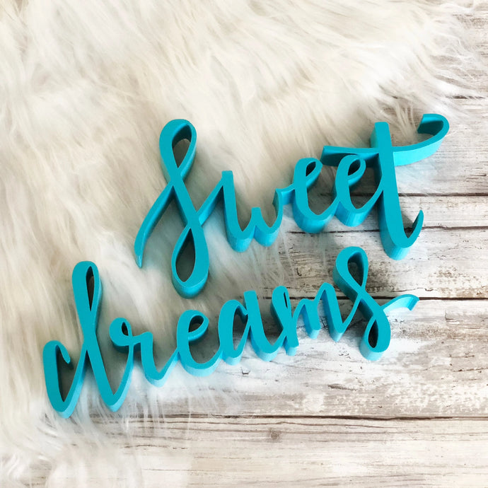 Sweet Dreams | Sign Decor