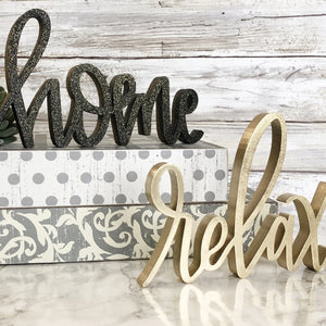 Home & Relax | Sign Decor Bundle