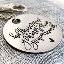 Load image into Gallery viewer, Corinthians Keychain | He'll Never Give You More Than You Can Handle