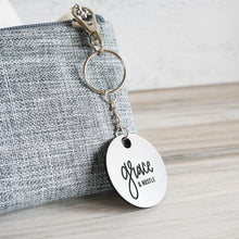 Load image into Gallery viewer, Grace & Hustle Engraved | Keychain