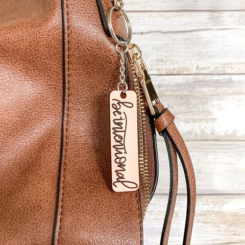 Be Intentional | Keychain