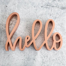 Load image into Gallery viewer, Hello | Sign Decor